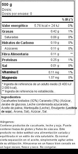 Crunchy Caramel Peanut Butter 500 g: Amazon.es: Alimentación ...