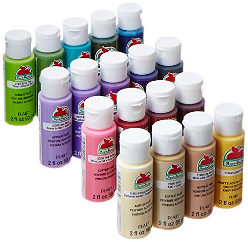 apple-barrel-acrylic-paint-set-18-piece-2-ounce-promoabii-best-selling-colors-ii