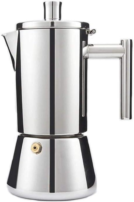 Qilo Cafetera 4 Tazas-6 Tazas (200 Ml / 300 Ml) Italian Espresso ...