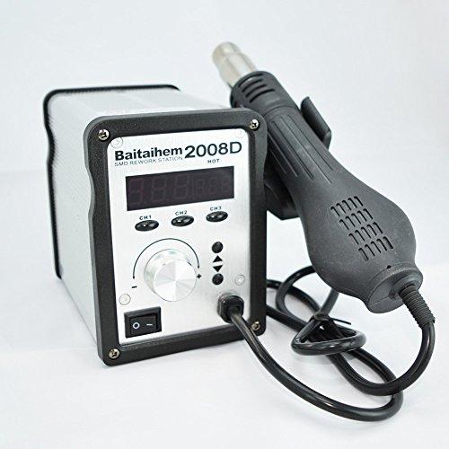 baitaihem hot air solder blower smd rework station welding soldering iron heat gun with. Black Bedroom Furniture Sets. Home Design Ideas