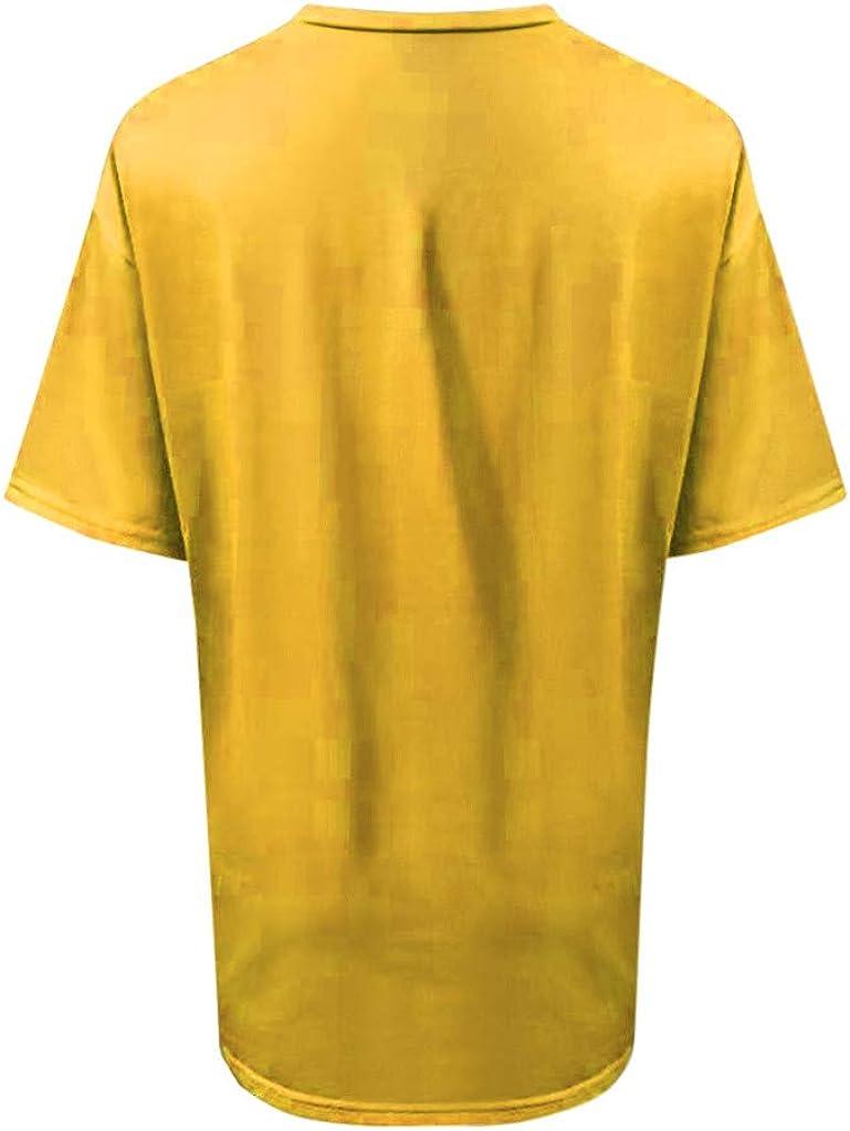 VEMOW Camisetas Mujer Verano Primavera Moda para Chicas Tallas ...