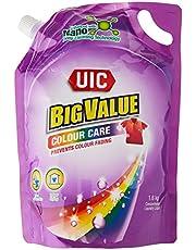 UIC Big Value Laundry Liquid Detergent (Colour Care), 1.6KG