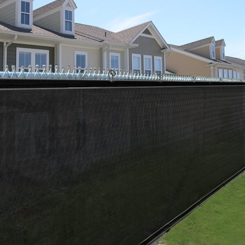 Best Choice Products Privacy Screen Fence Mesh 6' Windscr...