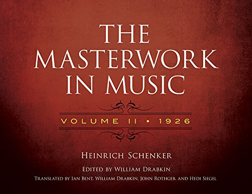 - The Masterwork in Music: Volume II, 1926