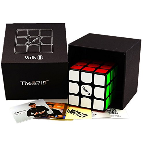 Cuberspeed Qiyi Valk 3 3x3x3 Black Magic Cube Qiyi