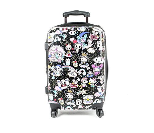 tokidoki x Hello Kitty 22'' Rolling Suitcase: Cosmic by Sanrio