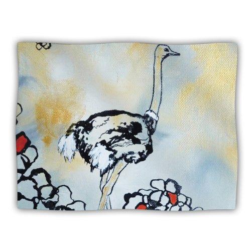 Kess InHouse Sonal Nathwani Ostrich Pet Blanket, 60 by 50-Inch