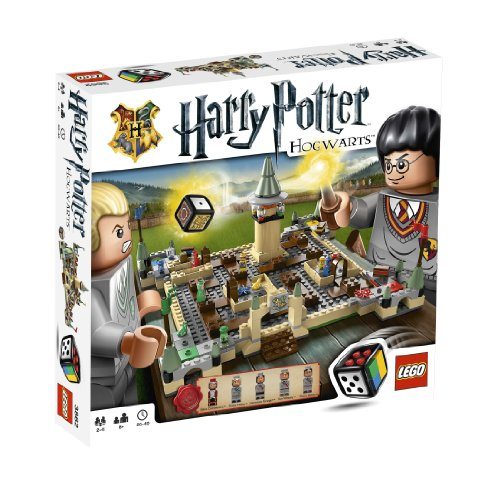LEGO Games 3862: Harry Potter Hogwarts (Harry Potter Board Game Lego)