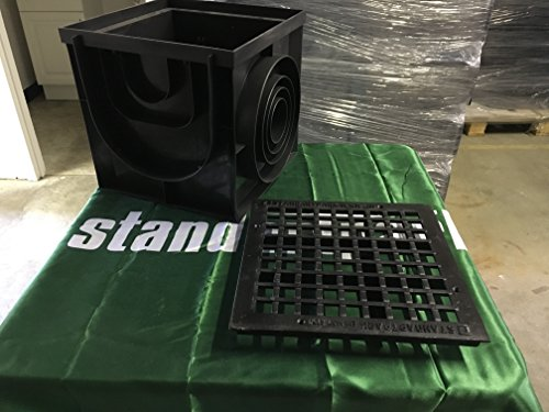 Standartpark 16x16 Catch Basin W Cast Iron Grate