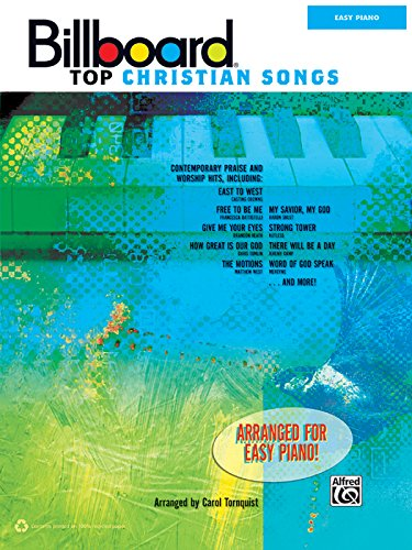 Billboard Top Christian Songs: Easy Piano from Brand: Alfred Music