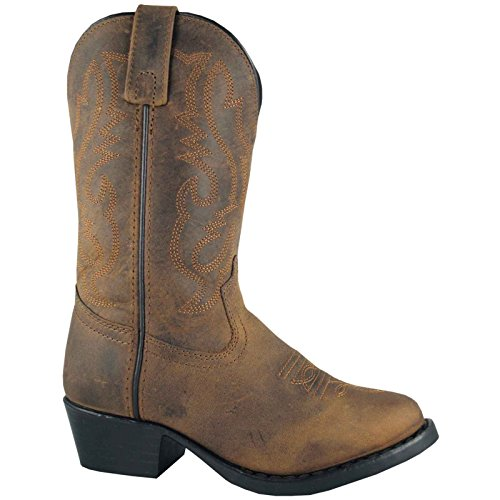 Pictures of Kids Denver Leather 8.5W 3034 Oil Distress Brown 1