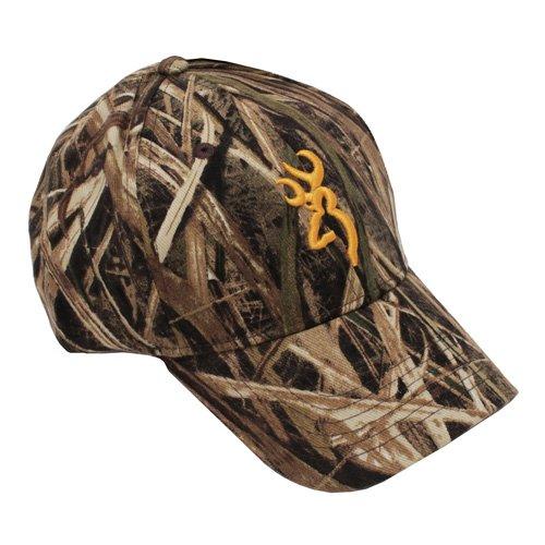 Mossy Oak Shadow Grass Hat - Browning Rimfire Camo 3D Buckmark Cap, Mossy Oak Shadow Grass Blades
