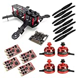 SpeedyFPV ZMR250 FPV Racing Drone Kit with F3 Flight Controller, 2205 Motors, 35A ESC