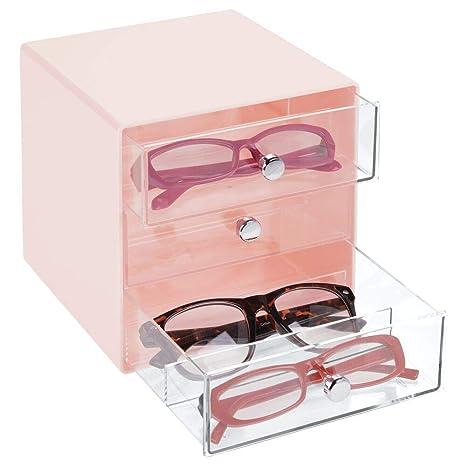 niedrigster Rabatt 2019 rabatt verkauf beste Auswahl von 2019 Amazon.de: mDesign Aufbewahrungsbox für Brillen - Brillenablage ...