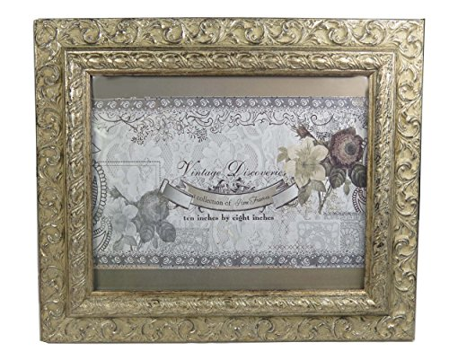 Picture Frames - Various Sizes & Styles (Champagne, 10x8