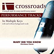 Mary Did You Know [Performance Track]