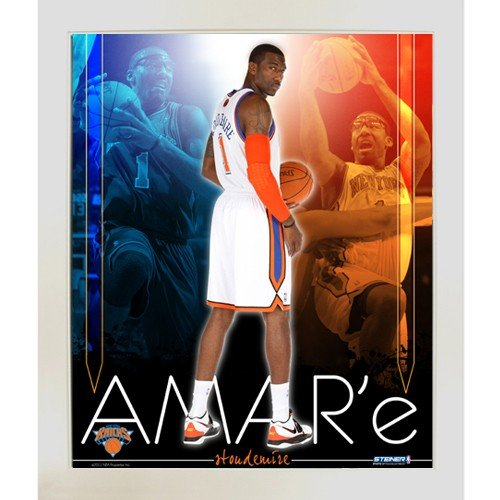 Biggsports Amare Stoudemire knicks Team Colors Composite Framed 11x14 Collage by Biggsports