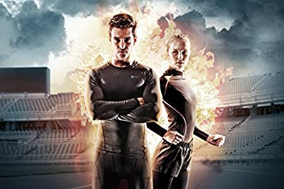 Tesla Men's Thermal Wintergear Compression Baselayer 3/4 Capri / Pants Leggings Tights YUP33 / YUC32 / P33 / P21