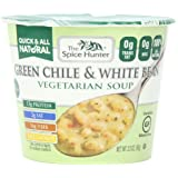 The Spice Hunter Green Chile & White Bean, Veg Soup Bowl, 2.2-Ounce (Pack of 6)
