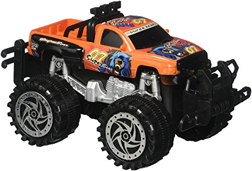 (Kole Friction Big Wheel Super Power Pickup Truck Kids Toy Vehicles)