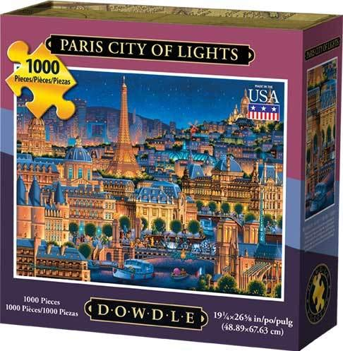 Dowdle Jigsaw Puzzle - Paris City of Lights - 1000 -