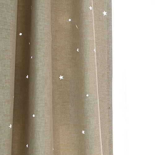Melodieux Blackout Noise free Grommet Curtains