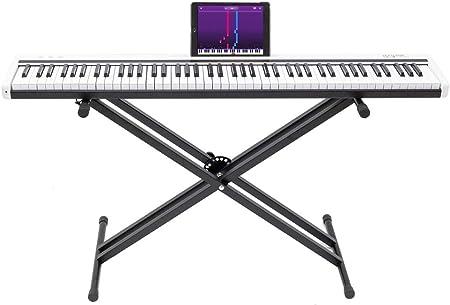 88 teclas Smart Electronic Piano Light Up Keyboard Piano de ...