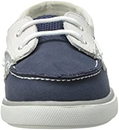 Baby Deer Deck Dress Shoe (Infant/Toddler),Navy,2 M US Infant