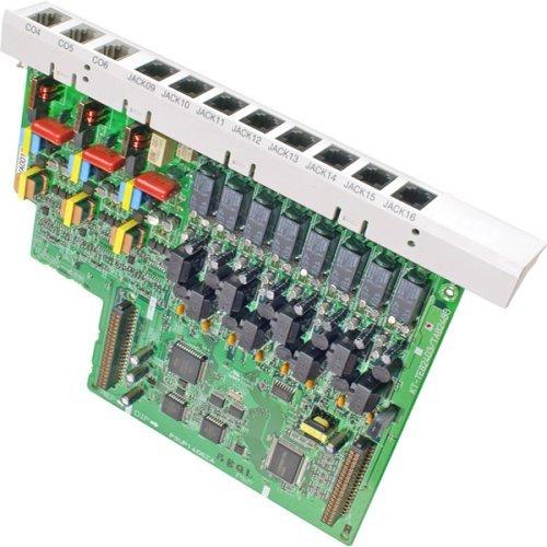 Advanced Hybrid Telephone System (Panasonic KX-TA824 Hybrid Phone System + KX-TA82483 3x8 Expansion Card - 1 Year Warranty)