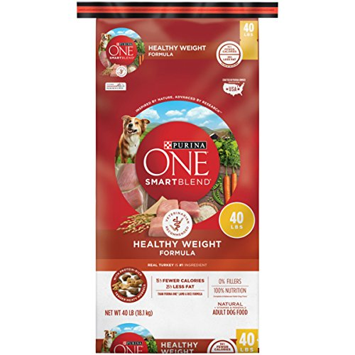 Purina ONE SmartBlend Natural Healthy Weight Formula Adult Dry Dog Food - 40 lb. Bag (Purina One Healthy Weight)