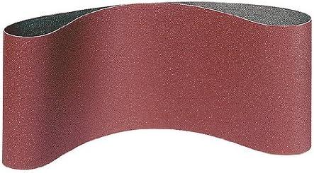 Schleifgewebe K/örnung 80 5 KLINGSPOR LS 309 XH Schleifb/änder f/ür Handbandschleifer 75 x 533 mm