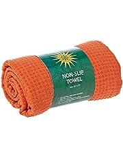 منشفة يوغا مضادة للانزلاق - برتقالي
