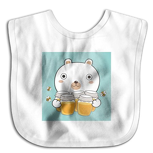Honey Bear Hugs - Bear Hug Honey Baby Bandana Drool Bibs