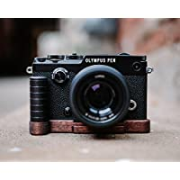 J.B. Camera Designs Pro Wood Grip for Olympus Pen F - Handmade in the USA