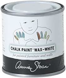 Chalk Paint (R) Wax - White (120mL) - Annie Sloan - Colored Wax - Finish - Limed Effect