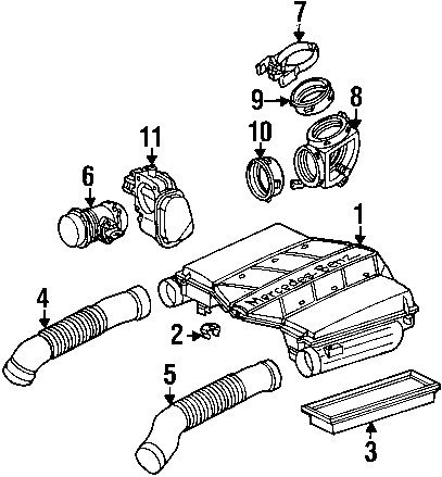 2003 C240 Engine Diagrams