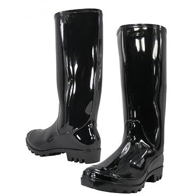 dd71b2c5bd4a Amazon.com | Women Rain Boots Stylish Waterproof Rubber Boots for ...