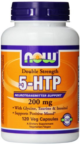 Now Foods 5-HTP Veg Capsules, 200 mg, 120 comte