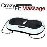 100% Genuine Crazy Fit Ultrathin Vibration Plate Massage - 2014 Model (The smallest and most portable Crazy Fit ever)