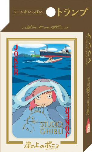 Studio Ghibli Playing Cards -Ponyo on the Cliff Part 2