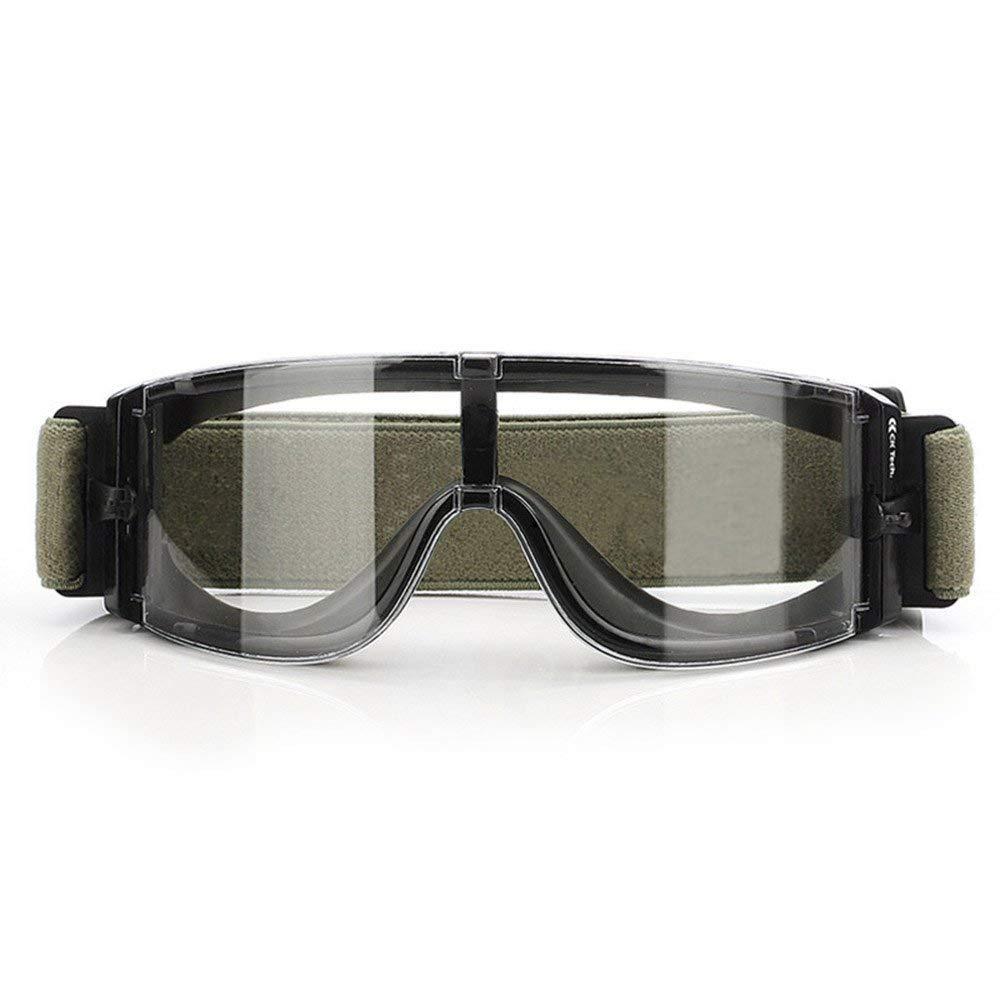 c5918315eb7edb Lunettes tactiques militaires antibuée, lunettes de sécurité pour vélo,  moto, lunettes de protection  Amazon.fr  Cuisine   Maison