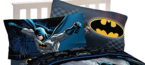 Batman Standard Size Reversible Pillowcase Set]()
