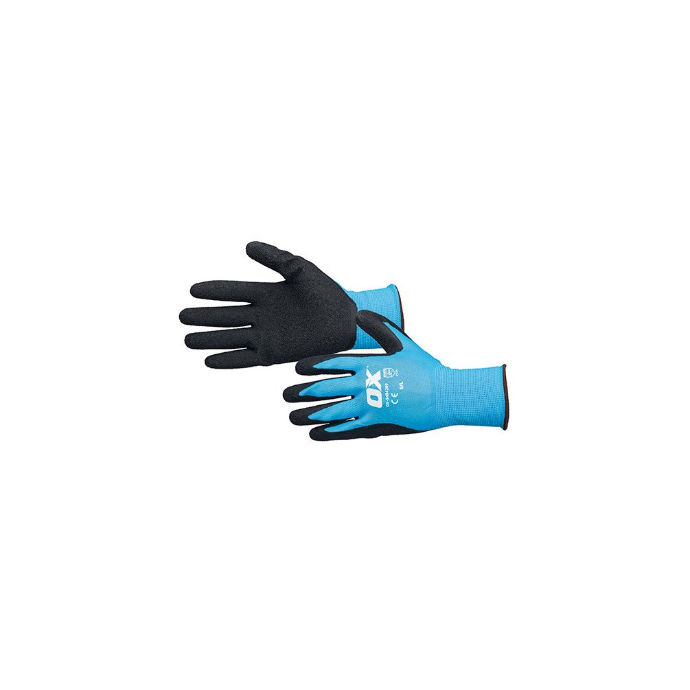 /Ox /Blue /& Black oxs4842/ Ox Latex Gloves Mastering/