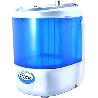 Aqua Laser Mini Lave-linge - Contient jusqu'à 2,5 KG - Avec minuterie - Peu encombrant et compact