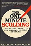 img - for The One-Minute Scolding book / textbook / text book