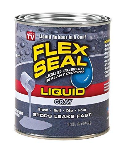(Flex Seal Liquid Rubber in a Can, Gray (16-oz))