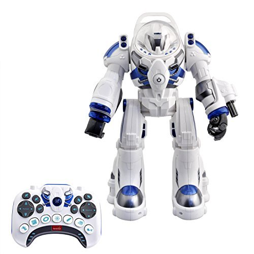 (KINGBOT Robot Toy,Spaceman RC Robot Remote Control Robots Toys with Programmable Interactive Walking Singing Dancing for Kids Boys Girls Gifts)