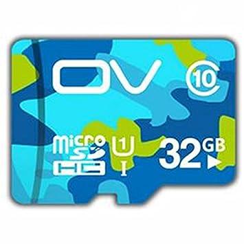 Yongse OV tarjeta SD Clase 10 de 32GB Micro SD TF tarjeta ...