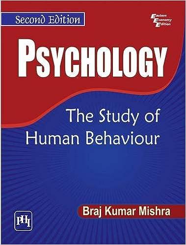 PSYCHOLOGY OF HUMAN BEHAVIOUR EPUB