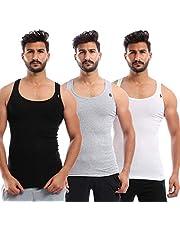 Sleeveless Undershirt for Men, Set of 3